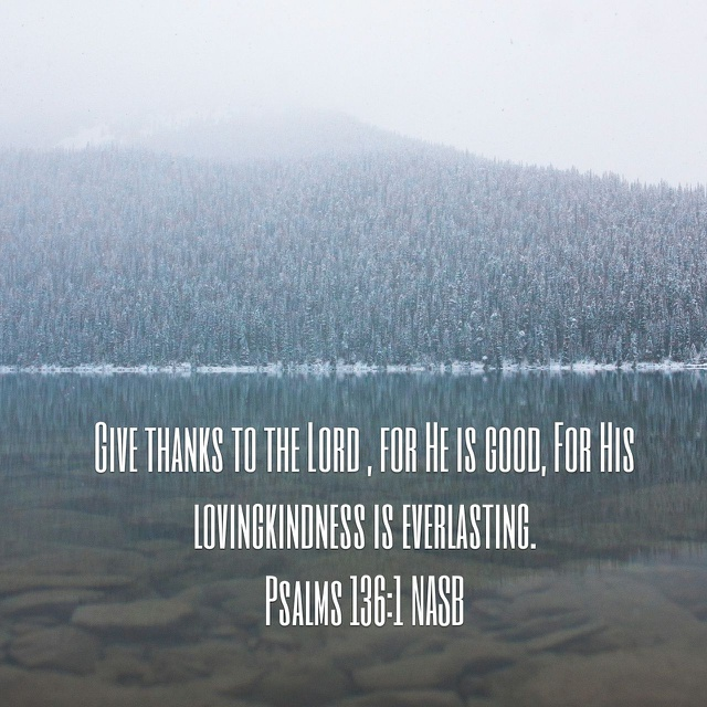 Psalm 136.1 YouVersion