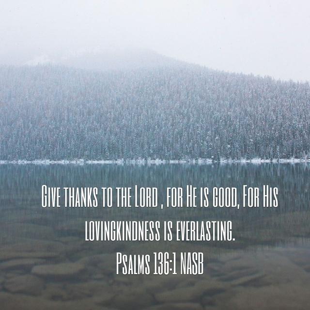Psalm 136.1 YouVersion