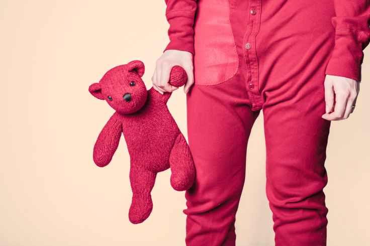 red bear child childhood