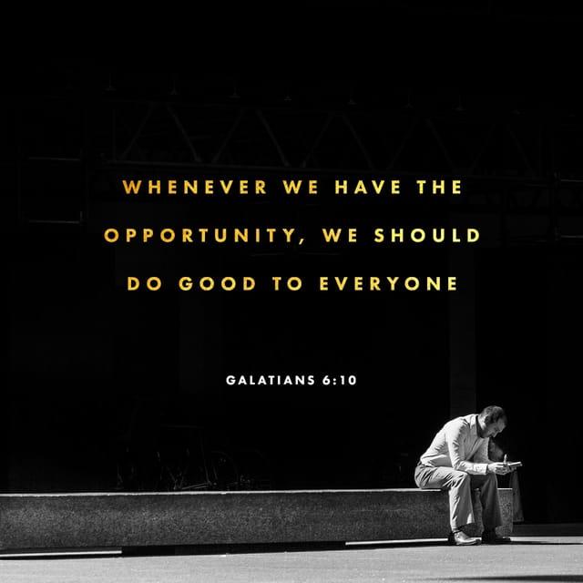 Galatians 6.10