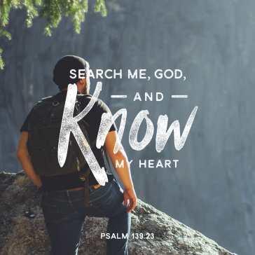 Psalm 139.23-34 B